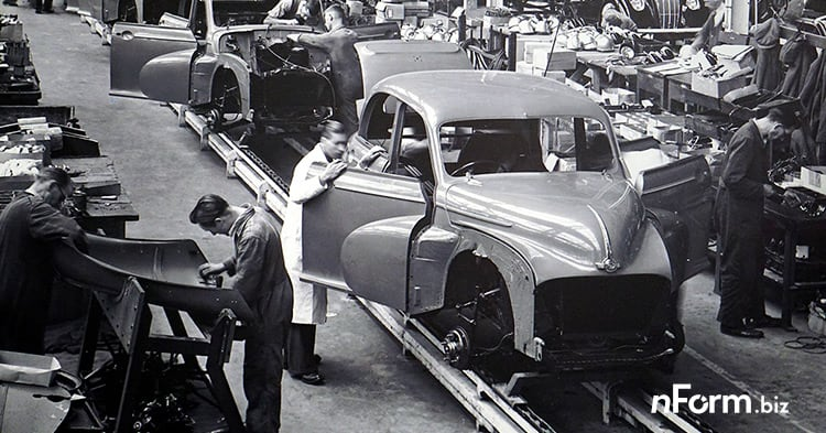 On time performance Assembly line