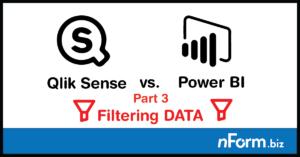 Filtering data in Power BI and Qlik Sense
