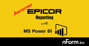 Epicor Reports with Power BI