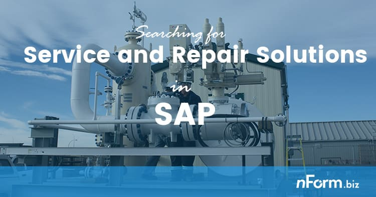 SAP Service and Repair header image