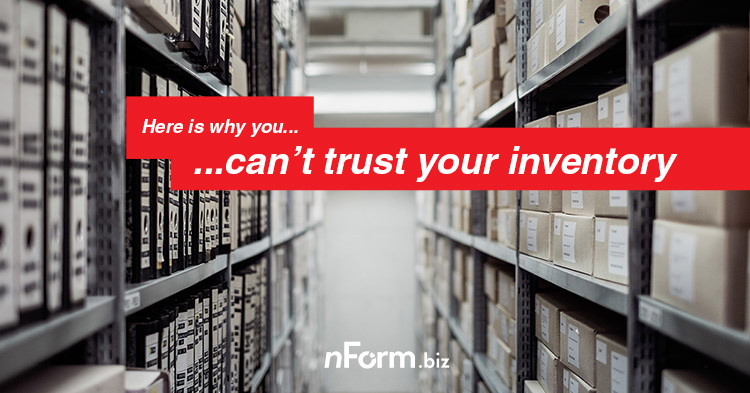 Inventory problems - Here is why you can't trust your inventory