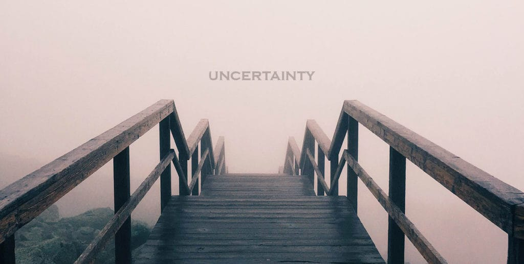Starting a new business uncertainty
